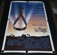 VERY RARE Original 1992 The Player Movie Poster Double Sided Robert Altman