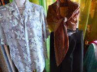 lo=femme  jupe,corsage ,fichu T48-50=A SAISIR !