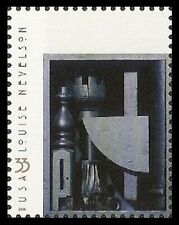 US 3381 Louise Nevelson Black Chord 33c single MNH 2000