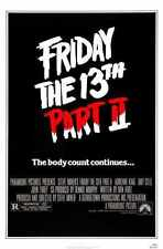 Friday 13th 2 Poster 01 A3 Box Canvas Print