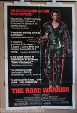 THE ROAD WARRIOR~STYLE B~1 SHEET~ORIGINAL~MOVIE POSTER~1982~MEL GIBSON
