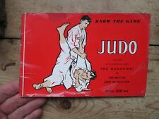 JUDO - KNOW THE GAME 1958