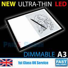 A3 Drawing Tracing Copy Board Tracer LED Thin Light Pad Box Art Tattoo Sketch