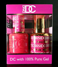 DND DC Neon Pink 005 Soak Off DC Gel Polish .6oz LED/UV DND Gel Duo DC005