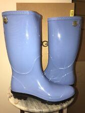 NIB Ladies UGG Australia SHAYE Skyline Blue Rain boots - 9 M