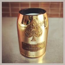 Upcycled Ace Of Spades Armand de Brignac bottle Candle