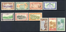 Cook Islands 1949 Topical set Scott 131-140, mnh vf complete 47.50