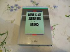 World-Class Accounting and Finance APICS Series in Production Management: