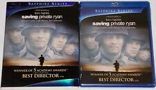 Saving Private Ryan New Blu-ray Sealed Sapphire Series Tom Hanks with Slipcover!