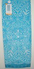 Luxury Plush Turquoise/Blue Medallion Beach/Bath Towel, Oversized, Premium