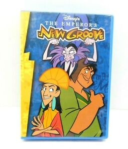 Disney's The Emperor's New Groove Read-Along CD Book & Cassette