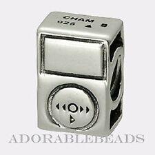 Authentic Chamilia Sterling Silver ipod Tunes Bead GA-119 *RETIRED*
