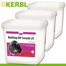Kerbl 2 x 500 Outil cit Ratstop DF Cereals 25 Poison raticide Blé Toxique