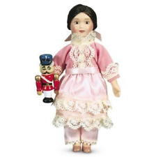"American Girl SAMANTHA'S 6"" DOLL CLARA + Wood Nutcracker Christmas Toy +Pamphlet"