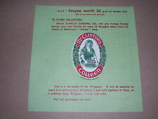 Stamp Collecting. 1913 Original Stanley Gibbons Promotional Advert. Coupon