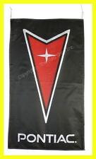 PONTIAC FLAG BANNER  VERTICAL BLACK sv6 g5 solstice 5 X 3 FT 150 X 90 CM
