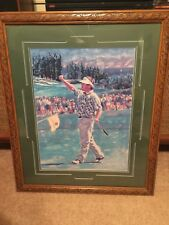 Fred Couples - Kapalua Int.- Matted and Framed - 27 x 32 - Very Good Condition !