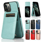 Case For iPhone 13 Pro Max 12 11 8 7 XR X Leather Wallet Card Holder Stand Cover