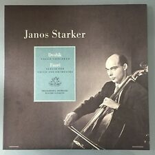 JANOS STARKER  Dvorak Faure Cello Concertos Angel Records S 35417 LP Audiophile