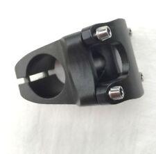 Potencias negro de aluminio para bicicletas BMX