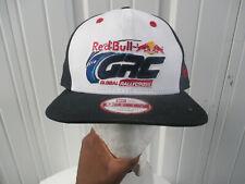 VINTAGE NEW ERA RED BULL GLOBAL RALLYCROSS SNAPBACK HAT CAP NEW W/O TAGS RACING