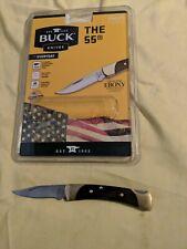 Buck Knives 55 Knife package opened forever warranty