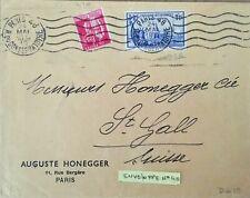 1939 stamp timbre enveloppe NEW YORK STATUE LIBERTE PAIX Y&T 370 426
