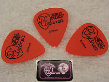 D'ANDREA 351 TNDX50 Delrex Delrin Guitar Picks .50MM THIN RED 12 picks in Tin