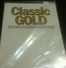 CLASSIC GOLD PVG PIANO VOICE AND GUITAR SHEET MUSIC LYRICS AND CHORD SYMBOLS