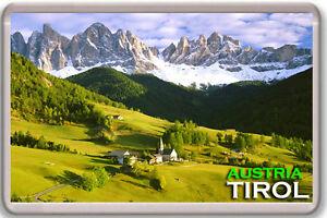 Tirol Österreich MOD1 Fridge Magnet Souvenir Magnet Kühlschrank