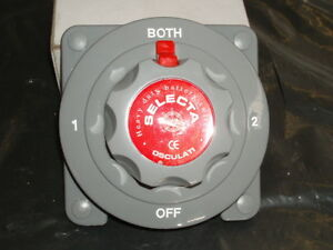 Battery Change Over / Master Switch - NEW - Boat, Yacht, Electrical Systems