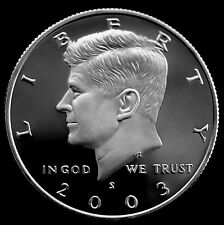 2003 S  Kennedy Half Dollar ~ Mint Silver Proof from Proof Set
