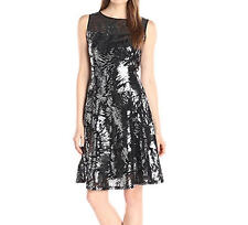 NWT - S.L. Fashions Women's Dynamite Sequence Knitted A-Line Dress - S 14