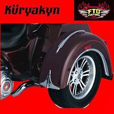 Kuryakyn Chrome Rear Fender Accents Front Edge for 09-17' Trikes 7217