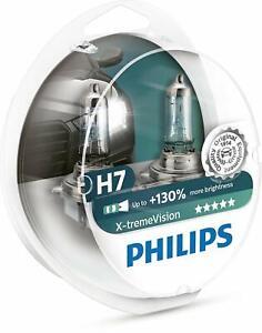 Ampoule Phare Philips H7 130% XtremeVision 12972XV+S2 Halogène Automobile
