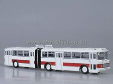 Ikarus-180 articulated bus /red-white/