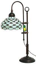 Lampada da tavolo ufficio ministero old england studio vetro tiffany in ottone