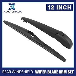 New 12inch Rear Windshield Wiper Blade Arm Set 310mm for Toyota Kluger 2006-2017