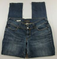 Decree Womens Jeans Juniors Sz 13 Skinny Mid Rise Medium Wash Denim **