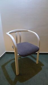 Original Michael Thonet armchair number 40 with upholstered seat