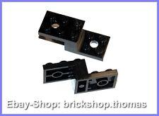 Lego 2 x Halterung Winkel Sonderstein schwarz 11215 Bracket Black NEU / NEW