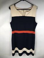 41 Hawthorn Sloane StitchFix Ponte Navy Blue A-Line Shift Dress XL NWT New
