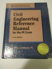 Civil Engineering for the PE Exam, 10th Ed. Hardcover