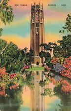 Postcard Bok Tower Florida