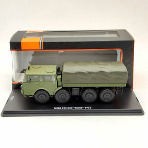 1/43 IXO Tatra 813 8X8 KOLOS 1968 TRU025 Green Truck Diecast Models Limited