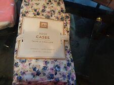 2 Pottery Barn Teen Rose  standard pillowcases  New