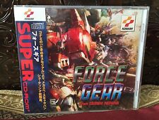 SEALED Force Gear for PC Engine Turbografx Turbo Duo