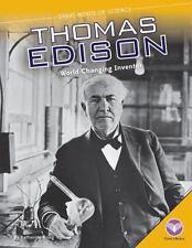 Thomas Edison: World-Changing Inventor (Hardback or Cased Book)