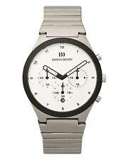 Danish Design IQ62Q885 White Dial Chronograph Quartz Stainless Steel Men's Watch