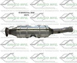 Catalytic Converter-Exact-Fit Davico Exc CA 16171